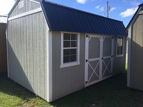 Backyard Outfitters,  10x16 Painted Side Lofted Barn for sale in Connellsville PA