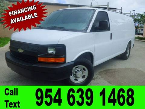 2008 Chevrolet Express Cargo for sale in Hollywood, FL