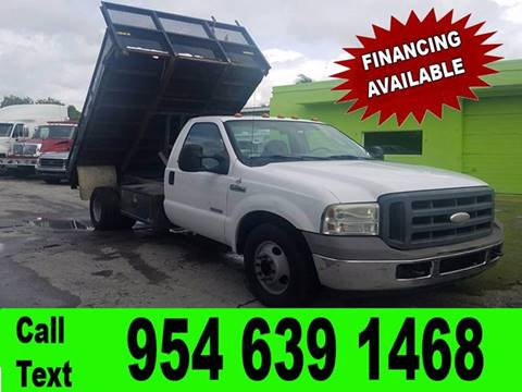 2005 Ford F-350 for sale in Hollywood, FL