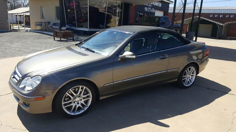 2009 Mercedes-Benz CLK for sale at Jerrys Vehicles Unlimited in Okemah OK