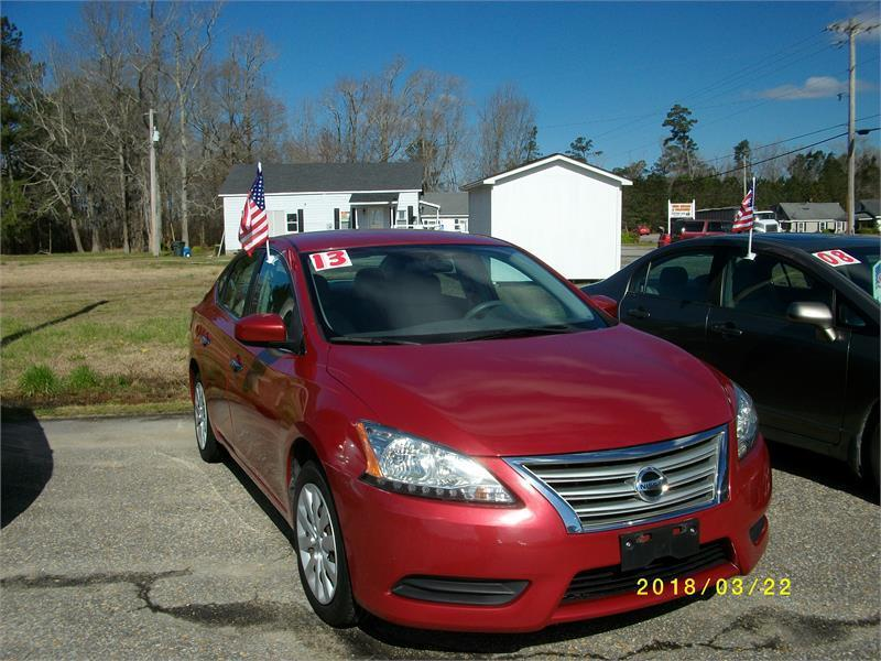 2013 Nissan Sentra For Sale At Olde Towne Auto In Edenton NC