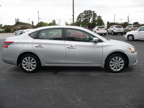 2014 Nissan Sentra for sale at Wade Hampton Auto Mart in Greer SC