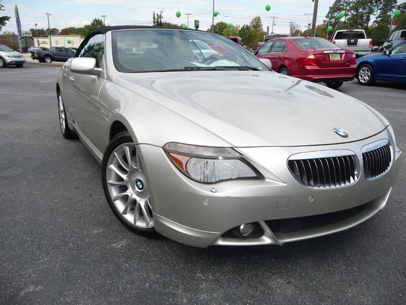 BMW Series Ci In Greer SC Wade Hampton Auto Mart - Bmw 645 convertible for sale