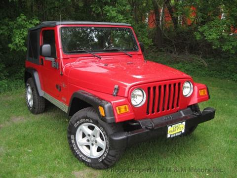 2005 Jeep Wrangler for sale at M & M Motors in West Allis WI
