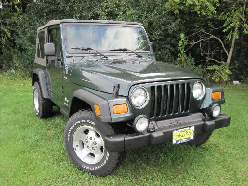2003 Jeep Wrangler For Sale At M U0026 M Motors In West Allis WI