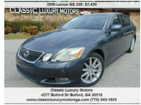 2006 Lexus GS 300 For Sale In Buford, GA