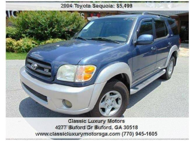 2004 toyota sequoia sr5 in buford ga classic luxury motors 2005 Toyota Sequoia SR5 Interior 2004 toyota sequoia for sale at classic luxury motors in buford ga