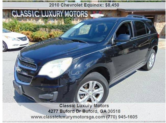 2010 Chevrolet Equinox For Sale At Classic Luxury Motors In Buford GA