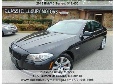 2013 BMW 5 Series for sale in Buford, GA