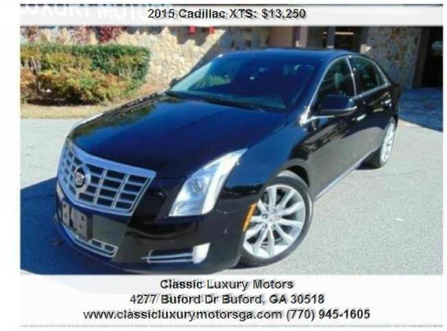 2015 Cadillac Xts Luxury In Buford Ga Classic Luxury Motors