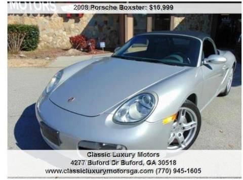 2008 Porsche Boxster for sale in Buford, GA