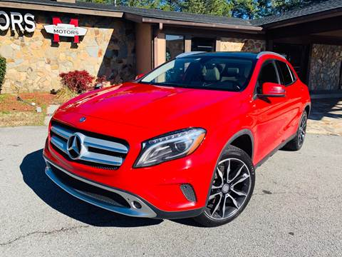 2015 Mercedes-Benz GLA for sale at Classic Luxury Motors in Buford GA