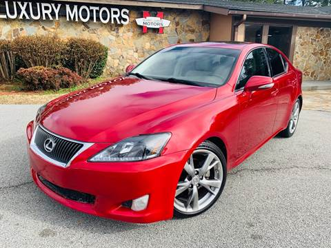 2010 Lexus IS 250 for sale at Classic Luxury Motors in Buford GA