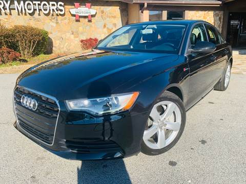 2012 Audi A6 for sale at Classic Luxury Motors in Buford GA