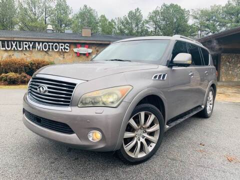 2011 Infiniti QX56 for sale at Classic Luxury Motors in Buford GA