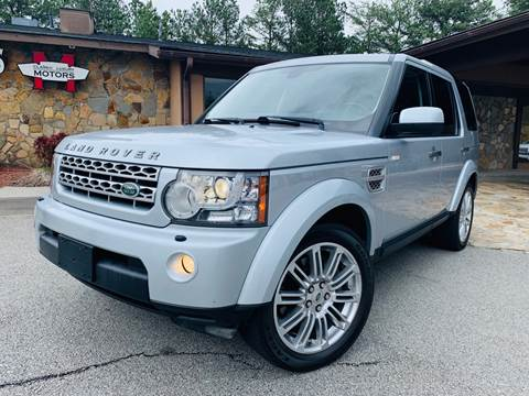 2011 Land Rover LR4 for sale at Classic Luxury Motors in Buford GA