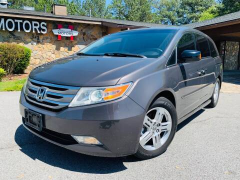2012 Honda Odyssey for sale at Classic Luxury Motors in Buford GA