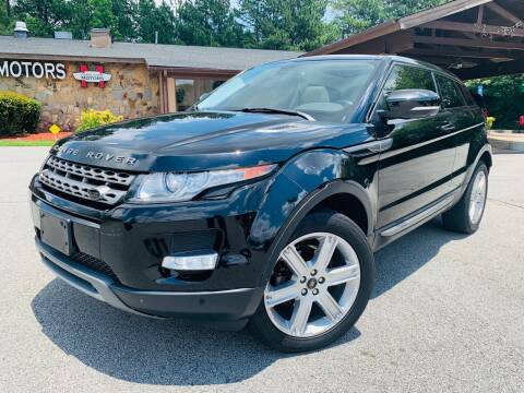 2013 Land Rover Range Rover Evoque Coupe for sale at Classic Luxury Motors in Buford GA