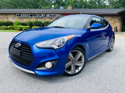 2014 Hyundai Veloster for sale at Classic Luxury Motors in Buford GA