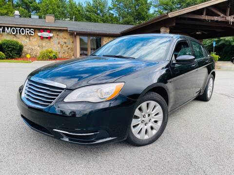 2014 Chrysler 200 for sale at Classic Luxury Motors in Buford GA