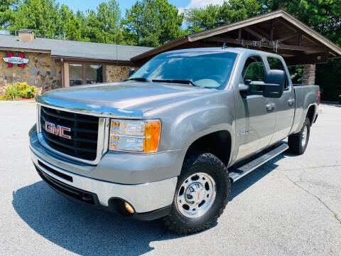 2008 GMC Sierra 2500HD for sale at Classic Luxury Motors in Buford GA