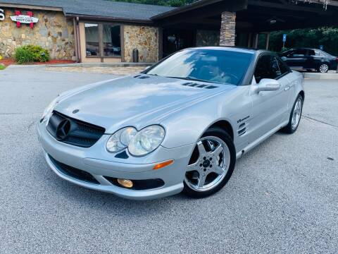 2003 Mercedes-Benz SL-Class for sale at Classic Luxury Motors in Buford GA