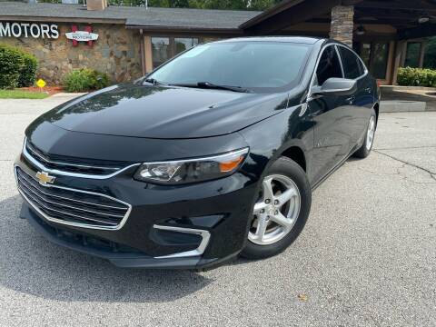 2018 Chevrolet Malibu for sale at Classic Luxury Motors in Buford GA