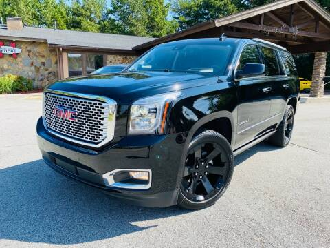2017 GMC Yukon for sale at Classic Luxury Motors in Buford GA