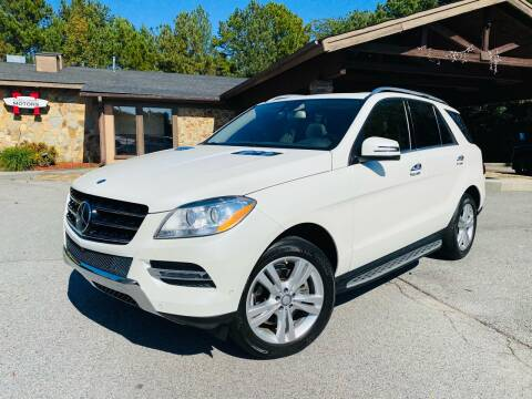 2014 Mercedes-Benz M-Class for sale at Classic Luxury Motors in Buford GA