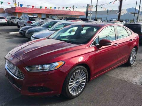 2016 Ford Fusion for sale in Salt Lake City, UT