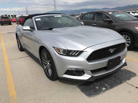 2016 Ford Mustang for sale in Salt Lake City, UT