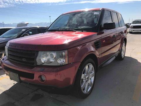 2008 Land Rover Range Rover Sport for sale in Salt Lake City UT