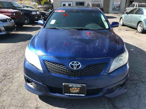 2011 Toyota Camry for sale in Salt Lake City UT