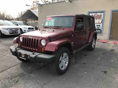 2007 Jeep Wrangler Unlimited for sale in Salt Lake City, UT