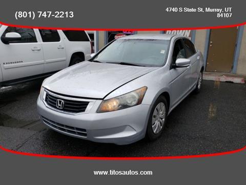 2010 Honda Accord for sale in Salt Lake City, UT