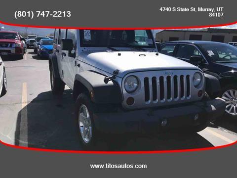 2010 Jeep Wrangler Unlimited for sale in Salt Lake City, UT