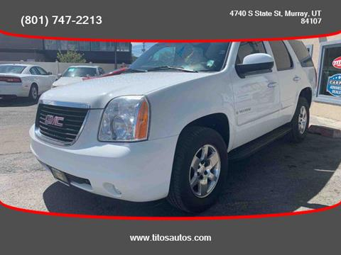 2009 GMC Yukon for sale in Salt Lake City, UT