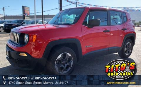2015 Jeep Renegade for sale in Salt Lake City, UT