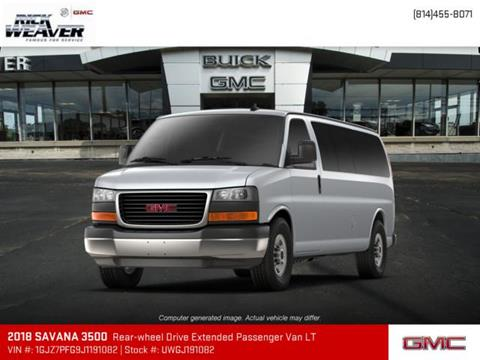 2018 GMC Savana Passenger for sale in Erie, PA