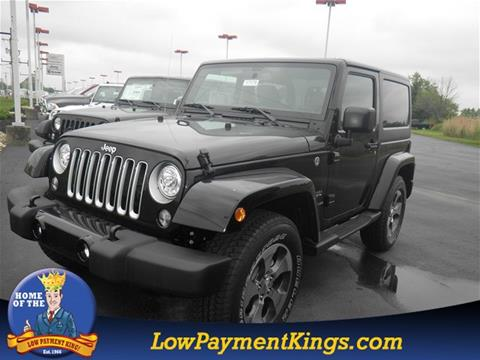2017 Jeep Wrangler for sale in Shelby, OH