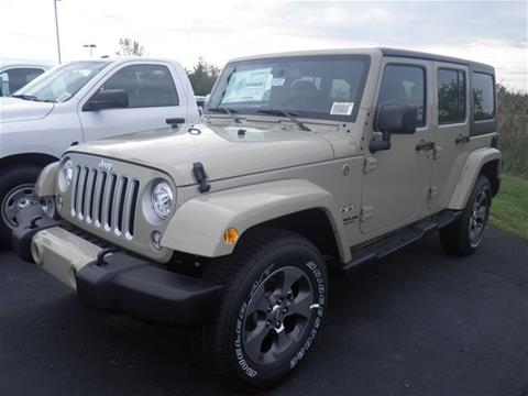 2017 Jeep Wrangler Unlimited for sale in Shelby, OH