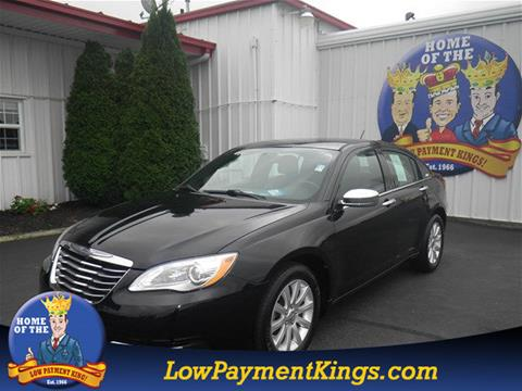 2013 Chrysler 200 for sale in Shelby, OH