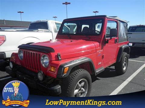 1998 Jeep Wrangler for sale in Shelby, OH