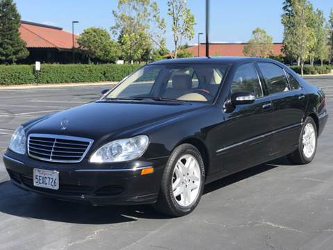 2003 Mercedes-Benz S-Class for sale at Silmi Auto Sales in Newark CA