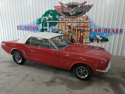 1965 Ford Mustang for sale in Cadillac, MI