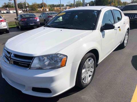 2012 Dodge Avenger for sale in Jackson, MI