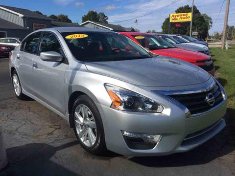 2013 Nissan Altima for sale in Jackson, MI