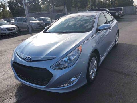 2011 Hyundai Sonata Hybrid for sale in Jackson, MI