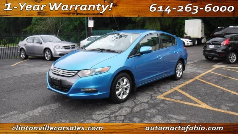 2010 Honda Insight For Sale At AutoMart Of Ohio   CLINTONVILLE CAR SALES In  Columbus OH