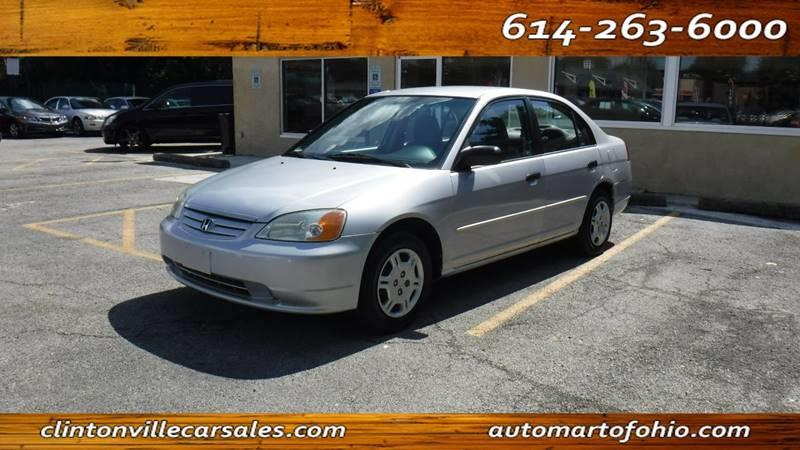 2001 Honda Civic For Sale At AutoMart Of Ohio In Columbus OH